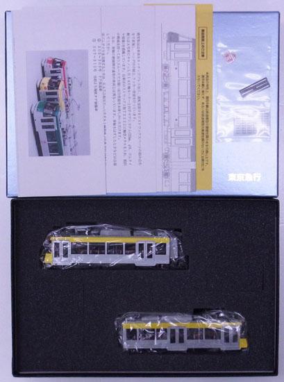 【中古】HOゲージ/カツミ 東京急行電鉄 世田谷線 300系 (306F・イエロー) 2003年製【A】