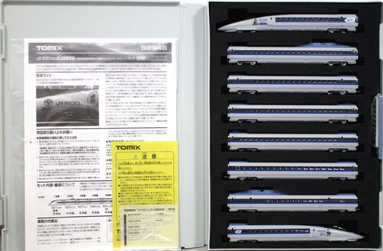 【中古】Nゲージ/TOMIX 98948 JR 500 7000系山陽新幹線(山陽新幹線全線開業40周年記念・カンセンジャーラッピング) 8両セット 限定品【A】