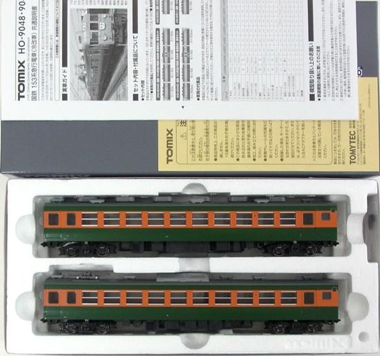 【中古】HOゲージ/TOMIX HO-9051 国鉄 153系急行電車(冷改車) 2両 増結セット(T)【A】