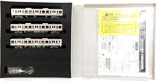 【中古】Nゲージ/グリーンマックス 30682 JR 211系5000番台 3両編成セット(動力付き)【A】