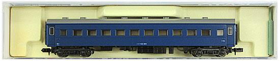 鉄道模型 Nゲージ 即日出荷 中古 KATO 人気の製品 5128-4 A オハフ33 戦後形 ブルー 2004年ロット