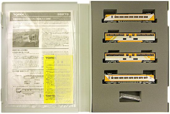 【中古】Nゲージ/TOMIX 98275 近畿日本鉄道 30000系ビスタEX(新塗装) 4両セット【A'】※パーツランナーから切り離し