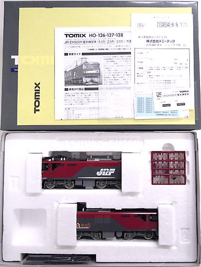 【中古】HOゲージ/TOMIX HO-127 JR EH500形電気機関車 2次形【A】