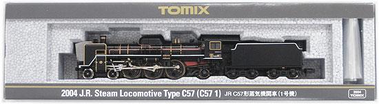 【中古】Nゲージ/TOMIX 2004 JR C57形蒸気機関車(1号機)【A】