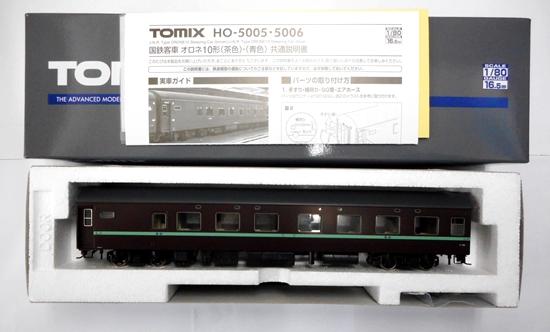 【中古】HOゲージ/TOMIX HO-5005 国鉄客車 オロネ10形(茶色)【A】