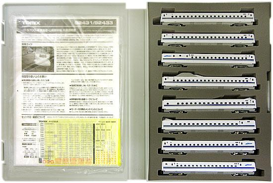 【中古】Nゲージ/TOMIX 92433 JR N700 0系 東海道・山陽新幹線 8両増結セットB 2011年ロット【A'】スリーブやや傷み 取扱説明書袋開封済み