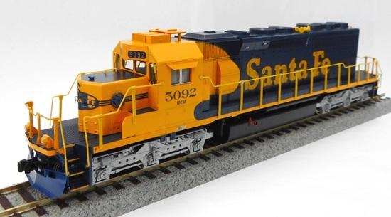 【中古】HOゲージ/KATO 37-6611A EMD SD40-2 Mid ディーゼル機関車 アチソン・サンタフェ鉄道 5092号車 (AtchisonTopeka&SantaFe #5092)【A'】外箱若干の傷み・ラベル印字かすれあり