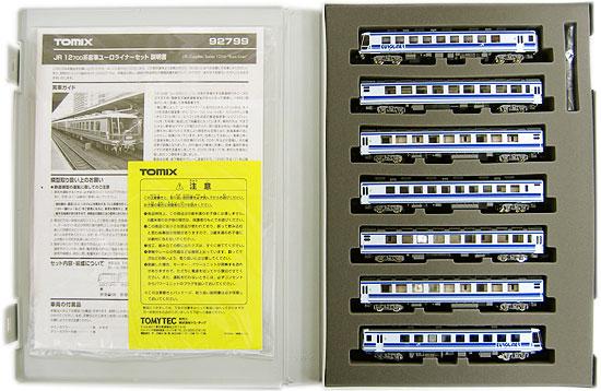 【中古】Nゲージ/TOMIX 92799 JR 12 700系客車ユーロライナー 7両セット【A】