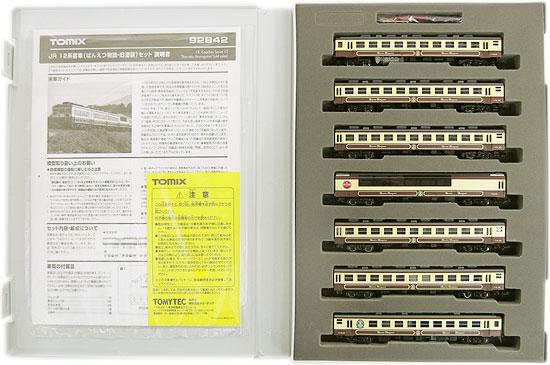 【中古】Nゲージ/TOMIX 92842 JR 12系客車(ばんえつ物語・旧塗装)7両セット【A】
