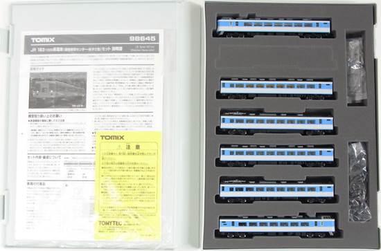 【中古】Nゲージ/TOMIX 98645 JR 183-1000系電車(幕張車両センター・あずさ色) 6両セット【A'】※スリーブ若干傷み