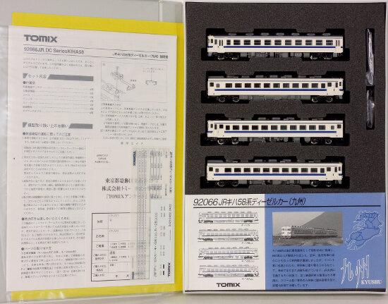 【中古】Nゲージ/TOMIX 92066 JR キハ58系 ディーゼルカー(九州) 4両セット【A'】※スリーブ傷み