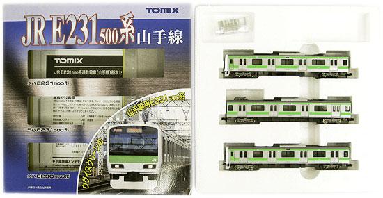 鉄道模型 Nゲージ 中古 TOMIX 92373 JR E231-500系通勤電車 2012年ロット チープ ※外箱傷み 山手線 基本セット 3両 A' 値引き