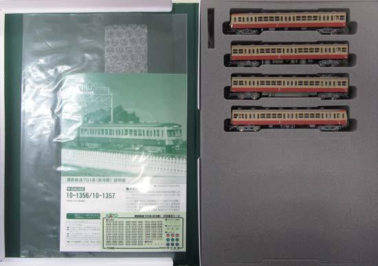 【中古】Nゲージ/KATO 10-1356 西武鉄道701系(非冷房) 4両基本セット【A】