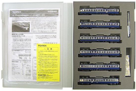 【中古】Nゲージ/TOMIX 98942 限定品 JR 115-300系近郊電車 (豊田車両センター・M40編成) 6両セット【C】外スリーブ傷み サハ115-319:裾部に色飛びあり