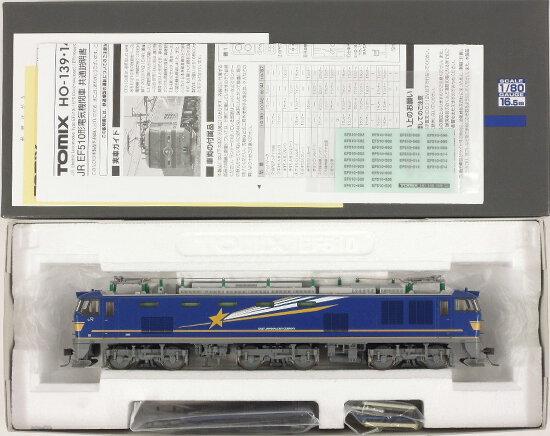 【開店記念セール!】 【中古】HOゲージ/TOMIX HO-140 JR EF510 500形電気機関車(北斗星色) 2015年ロット【A】, なら下駄屋 80661c81