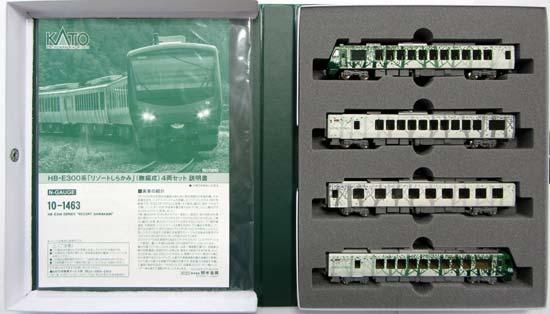 【中古】Nゲージ/KATO 10-1463 HB-E300系「リゾートしらかみ」(ぶな編成)4両セット【A】