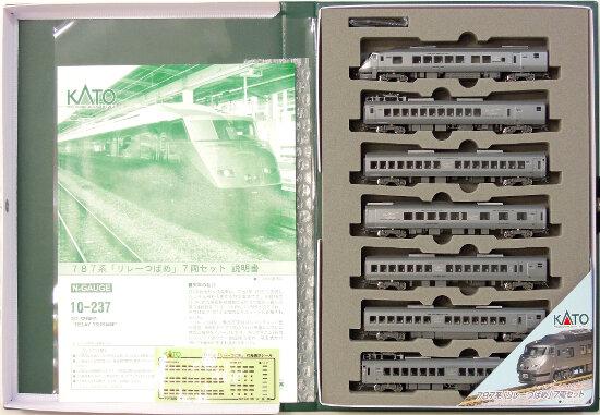 鉄道模型 Nゲージ 中古 低価格 KATO 10-237 787系 A 7両セット 待望 リレーつばめ 2005年ロット