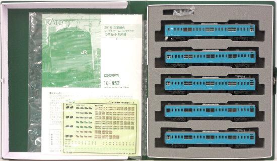 【中古】Nゲージ/KATO 10-852 201系 京葉線色 シングルアームパンタグラフ 10両セット【A】