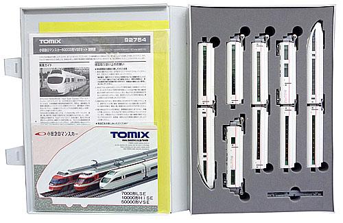 【中古】Nゲージ/TOMIX 92754 小田急ロマンスカー50000形VSE 10両セット モデルイメージフォトパッド(初回生産記念)付 2005年ロット【A'】外スリーブ若干イタミ/説明書袋開封済