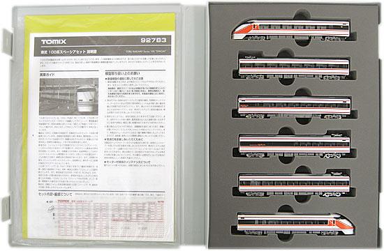 【中古】Nゲージ/TOMIX 92783 東武 100系スペーシア 6両セット 2008年ロット【A】外スリーブ傷み