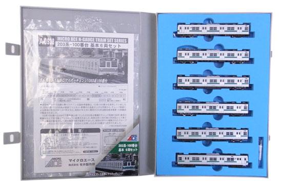 【中古】Nゲージ/マイクロエース A0938 203系-100番台 基本6両セット【A】