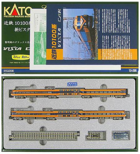 【中古】Nゲージ/KATO 10-295 レジェンドコレクションシリーズNo.3 近鉄10100系 新ビスタカー 6両セット【A'】紙箱イタミあり