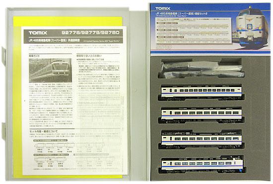 【中古】Nゲージ/TOMIX 92780 JR 485系特急電車(スーパー雷鳥) 4両増結セットB【A'】スリーブ傷み