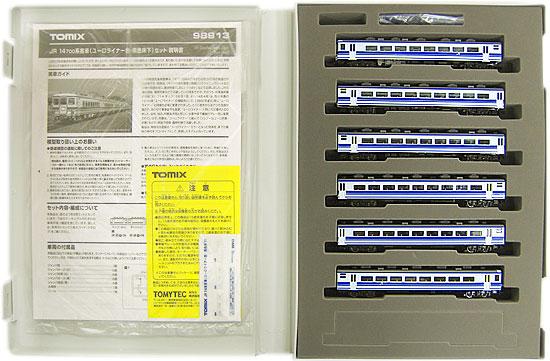 【中古】Nゲージ/TOMIX 98913 JR 14 700系客車(ユーロライナー色・黒色床下) 6両セット【A】