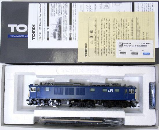 【中古】HOゲージ/TOMIX HO-136 EF64 1000形電気機関車(JR貨物仕様)【A】
