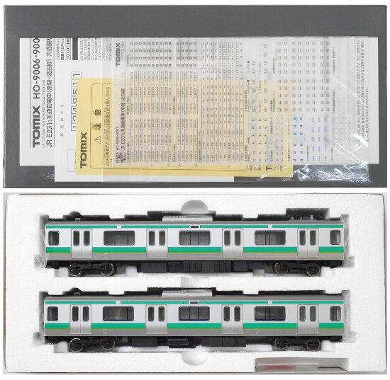 【中古】HOゲージ/TOMIX HO-9007 JR E231-0系 通勤電車(常磐・成田線) 2両 増結セット【A】
