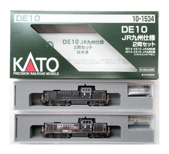 【中古】Nゲージ/KATO 10-1534 DE10 JR九州仕様 2両セット【A】