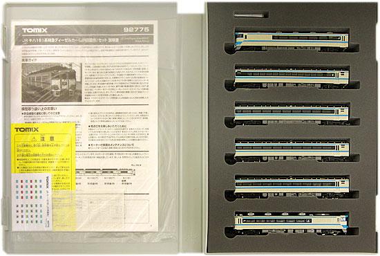 【中古】Nゲージ/TOMIX 92775 JR キハ181系特急ディーゼルカー(JR四国色) 6両セット【A】