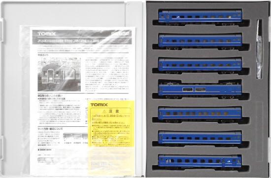 【中古】Nゲージ/TOMIX 92832 JR 24系25形特急寝台客車(あさかぜ・JR西日本仕様)7両セット【A'】パーツ袋開封