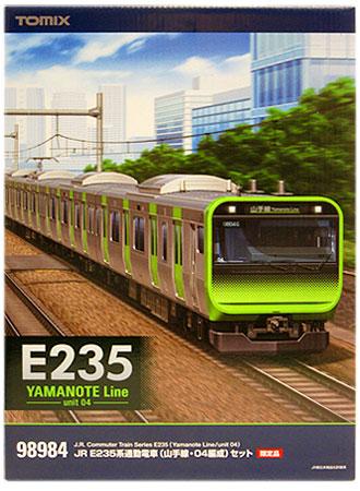 【中古】Nゲージ/TOMIX 98984 JR E235系通勤電車(山手線・04編成) 11両セット 限定品【A】