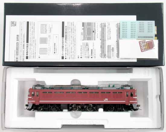 【中古】HOゲージ/TOMIX HO-170 JR EF81 600形電気機関車(JR貨物更新車) プレステージモデル【A】