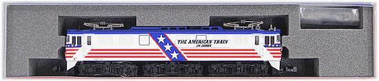 【中古】Nゲージ/宮沢模型 アメリカントレイン EF60-19+50系客車 13両フル編成セット【D】※客車 6両目サッシ色はげ