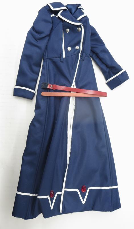 【中古】VOLKS(ボークス) ドルフィードリーム DDフェイト・T・ハラオウン デフォルト衣装・ジャケット&ベルト 【A'】未使用品 DDフェイトに付属の衣装です