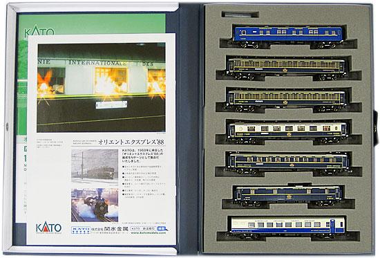 【中古】Nゲージ/KATO 10-561 オリエントエクスプレス'88 7両基本セット 2012年ロット【A】