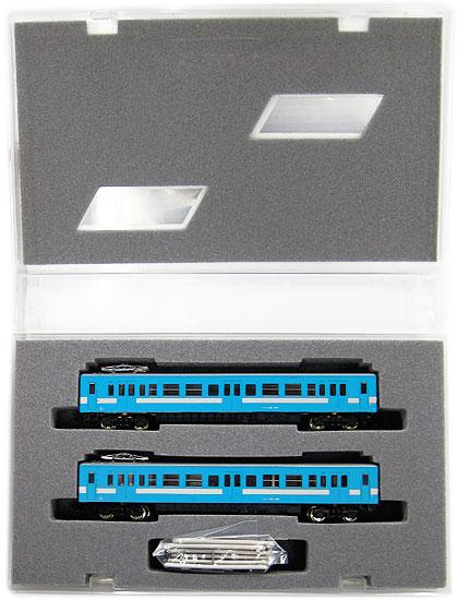 鉄道模型 Nゲージ 中古 グリーンマックス 4009 出群 JR M車+T車 A 2両編成セット 両側運転台車両 119系100番代 お中元 ライトブルー
