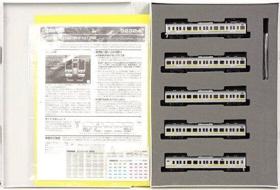 【中古】Nゲージ/TOMIX 92324 JR 211-3000系近郊電車(房総色) 5両セット 2007年ロット【A】
