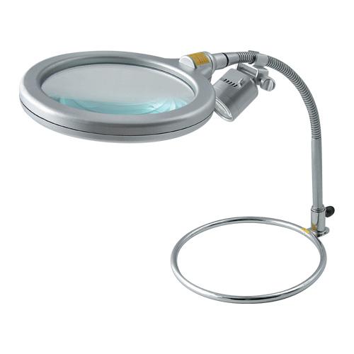 [TSK] スタンド式レンズLEDライト付き RX-1500M-LED::02P03Dec41