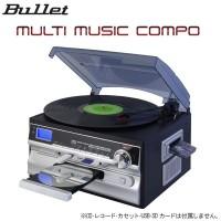 【送料無料】BULLET マルチミュージックコンポ(MLC-100K):02P03Dec37
