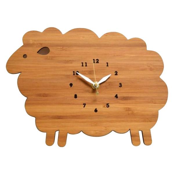 【代引・同梱不可】Made in America DECOYLAB(デコイラボ) 掛け時計 SHEEP ひつじ(沖縄県・北海道・一部離島お届け不可)