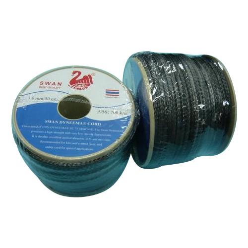 【送料無料】ダイニーマロープ 3.0mm径 50m/巻 グレー DN-03-50:02P03Dec37