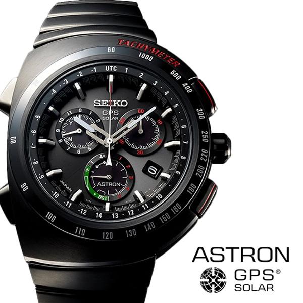 【延長保証対象】セイコー 腕時計 SEIKO 時計 SEIKO腕時計 セイコー時計 アストロン ASTRON メンズ ジウジアーロ ブラック SBXB121 [ 腕時計メンズ メンズ腕時計 ソーラー 電波 電波ソーラー GPS アナログ クロノ ラウンド ビジネス 8X プレゼント ギフト 新生活 ]