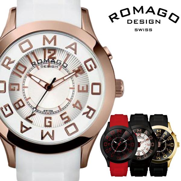 [当日出荷] ロマゴ 時計 ROMAGO 時計 ロマゴ 腕時計 ROMAGO 腕時計 ロマゴデザイン ROMAGODESIGN ロマゴ デザイン ROMAGO DESIGN ロマゴ時計 ROMAGO時計 ロマゴ腕時計 メンズ レディース RM015-0162PL-BKRG 新作 ブランド [ プレゼント ギフト 新生活 ]