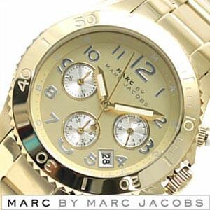 [当日出荷] マークバイマークジェイコブス 腕時計 Marc By Marc Jacobs 時計 ロック クロノ [ Rock ] メンズ レディース ゴールド MBM3188 [ ビジネス ] [ プレゼント ギフト 新生活 ]