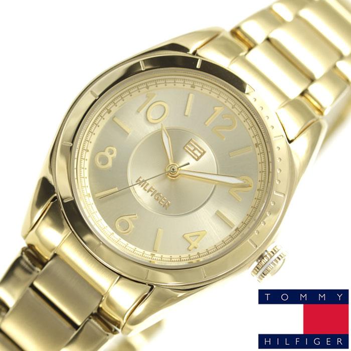 [当日出荷] トミーヒルフィガー 腕時計 Tommy Hilfiger 時計 メンズ レディース ゴールド 1781278 [ ブランド おしゃれ ] [ プレゼント ギフト 新生活 ]