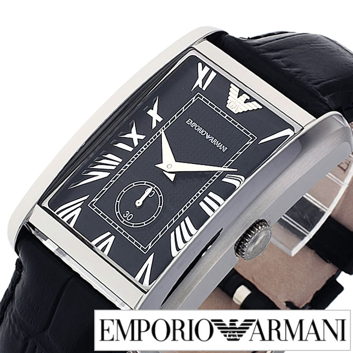 b1e33bffe3d Emporio Armani watches EMPORIOARMANI watch Armani watches Emporio Armani  watch men s   women s   black AR1604 leather belt   luxury   Empoli clock    classic ...