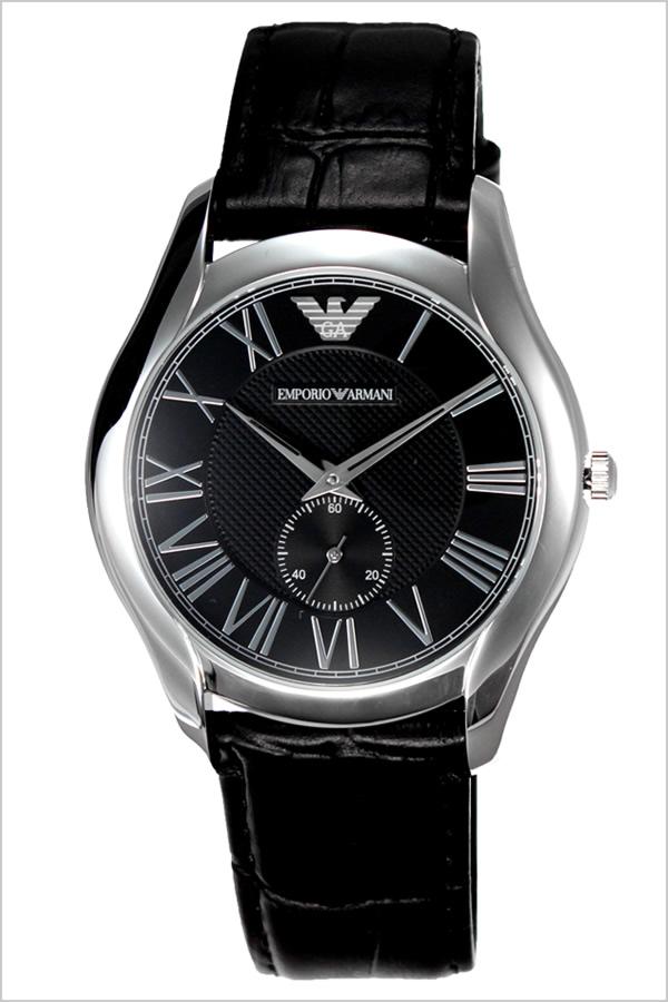エンポリオアルマーニ 腕時計 メンズ EMPORIO ARMANI 時計 アルマーニ時計 アルマーニ ブラック AR1703 [ エンポリ EA ブランド 男性 ビジネス スーツ 社会人 就活 リクルート おしゃれ 革 ベルト 高級 ]